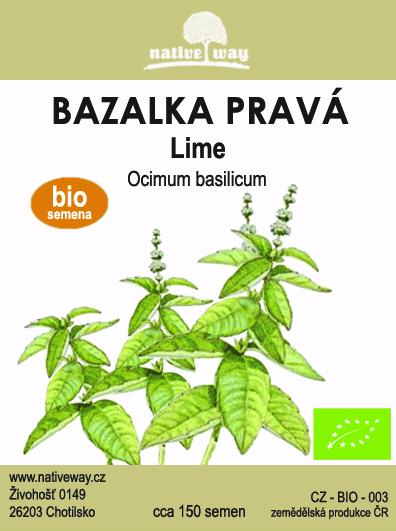 Nativeway bazalka lime seminka