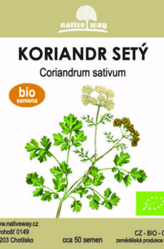 Nativeway koriandr seminka