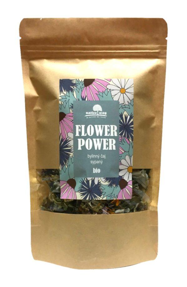 flowerpower bylinny caj bio - nativeway.cz